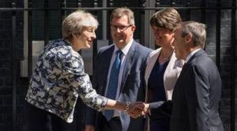 保守党和DUP协议达成一致 为英国创造稳定的政治环境