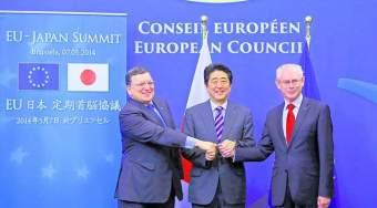 日本和欧盟向特朗普总统喊话:自由贸易还活着
