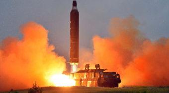 朝鲜疑向东部海域发射导弹 东北亚政局动荡支撑黄金避险需求