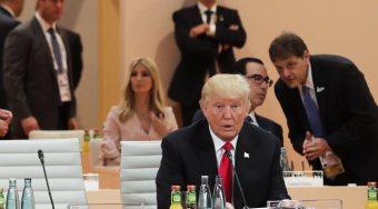 G20峰会中特朗普受孤立 伊万卡坐上特朗普位置引争议