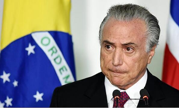 现任巴西总统特梅尔