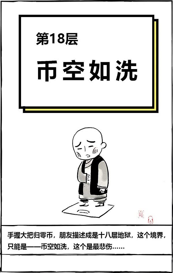 [漫画]秘籍之币圈佛系修炼韭菜漫画苹果咔哔图片