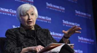 美联储主席耶伦:美国经济持续向好 致力于控制通货膨胀率预期