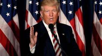 特朗普豪扬言修建美墨边境墙 美国关门危险引发市场恐慌提振黄金