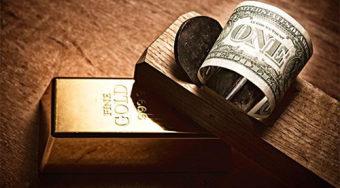 陆.睿.铭:美元暴跌现货黄金发威,伦敦金寻求1250破位