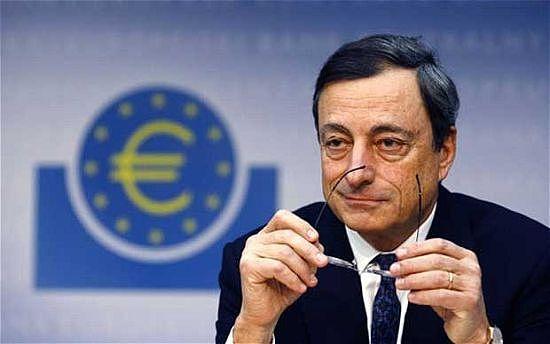 (欧洲央行会议以后德拉吉讲话表示不会很快退出宽松 来源:金色财经)