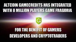 GameCredits区块链支付网关将帮助加密货币在全球范围内扩展