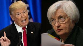特朗普正考虑耶伦为下任美联储主席人选 科恩也在候选范围