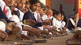 """区块链技术服务于印度儿童公益项目""""午餐计划"""" 惠及百万贫困儿童"""