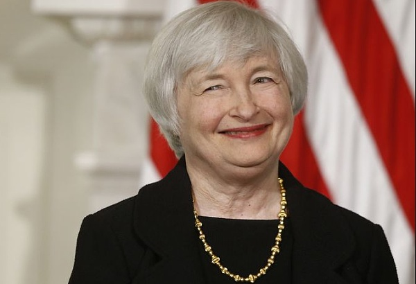 耶伦强调美联储的原则是以美国经济指标为参考
