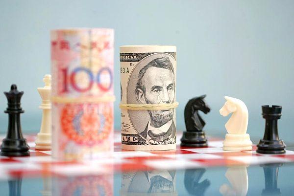 人民币兑美元的汇率出现大幅上涨