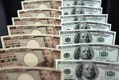 美元持续下跌势头 美/日涨势恐结束