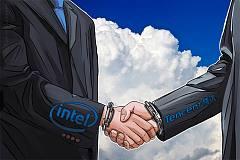 软硬件巨头在区块链上达成合作