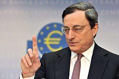 """欧央行行长德拉基的发言却令欧元坐上""""过山车""""一般"""