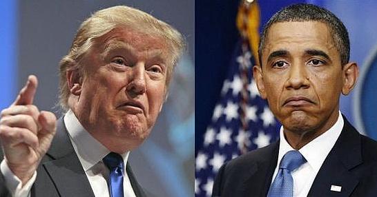 奥巴马卸任&特朗普接棒