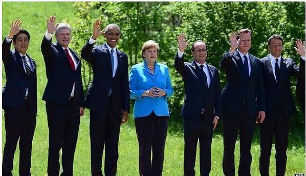 2015年6月的G7领导人峰会