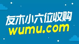 家有乌木半方胜过财宝一箱 投资人友木拿下一枚双拼域名wumu.com