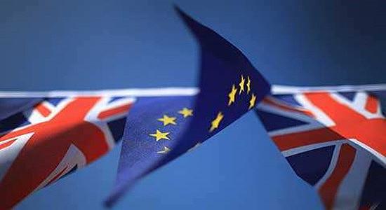 (英国两年的脱欧协商在2019年3月结束时)