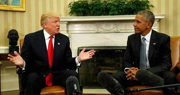 奥巴马给特朗普留下丰厚家底