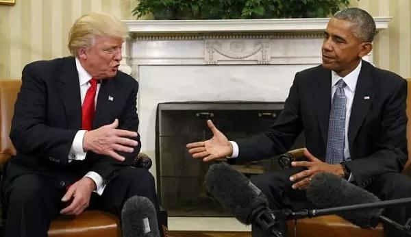特朗普和奥巴马会谈