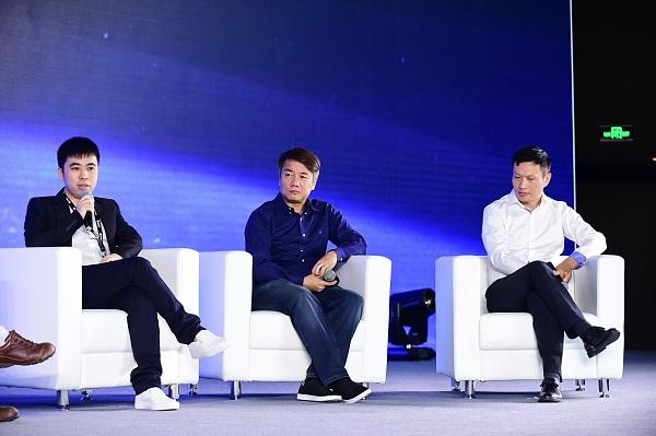 连接资本创始人林嘉鹏在迅雷玩客云发布会上