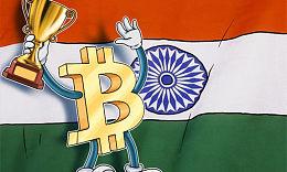 印度比特币需求量激增!印度比特币交易量持续增长!