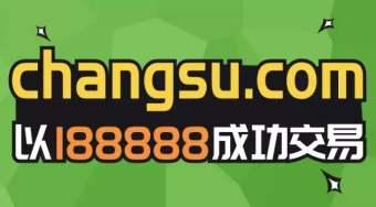 终端188888元买下changsu.com,卖家曾百万卖出四字母域名