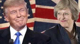 梅让英国重新伟大 特朗普要美国变得伟大 事实上他们都伟大了黄金!