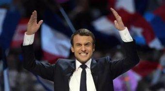法国明星总统马克龙诞生 他对油气这态度是这样子