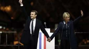 法国大选马克龙胜出:许诺法国及欧盟和全球化一个未来