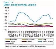 OPEC产油国沙特在内的多个国家减少原油发电需求成绩斐然