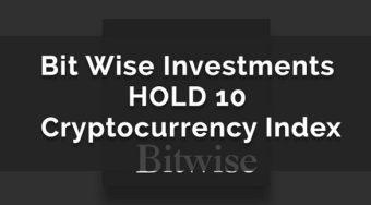 加密数字货币投资公司Bitwise获400万美元种子轮融资 推出HOLD 10 私人指数基金