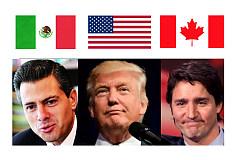 特朗普计划与相邻两国讨论北美自由贸易协定、移民和边境安全问题