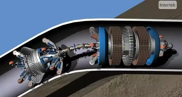 利用管道石油机器人为油气管道内部刷漆-石油机器人已猛烈入侵石油