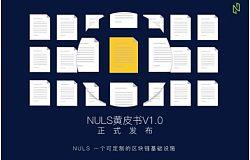 NULS技术黄皮书正式发布,打造全球性的区块链开源社区