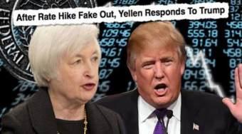 """特朗普和耶伦叠加施压于黄金 黄金""""情人劫""""就在眼前"""
