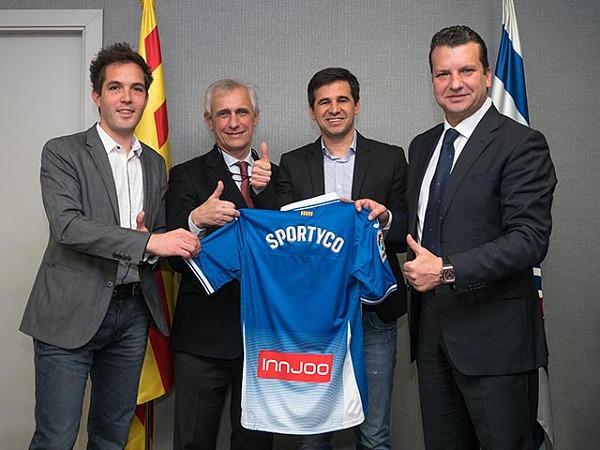 链体育融资公司SportyCo赞助西班牙人足球俱
