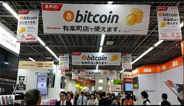日本立法承认比特币是一种合法支付方式