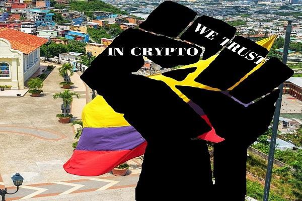 厄瓜多尔数字货币交易商对抗禁令 推出比特币自动提款机