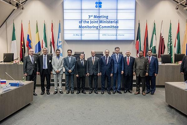 第172届OPEC大会进行时!是延长减产9个月还是