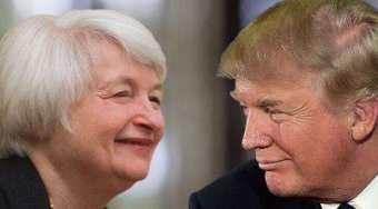 耶伦接班人 特朗普有意提名具有银行和金融背景的人安插进美联储