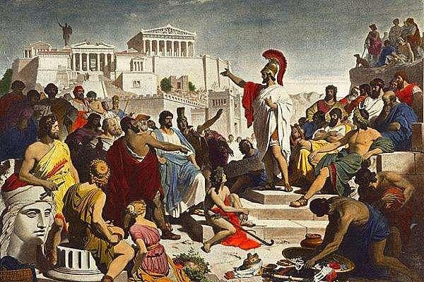 看上去很美的古希腊民主