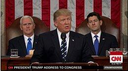 特朗普首次国会讲话内容全纪要 万亿基建成亮点 税改政策仍不明确。