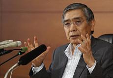 日本央行的黑田警告低利率可能会种下新的金融危机种子