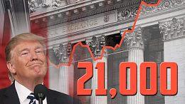 【财经早餐】2017.3.2道琼斯指数首次破21000点 特朗普国会首秀触发道指爆点