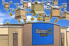 沃尔玛使用区块链追踪运输无人机,即将接受比特币支付?