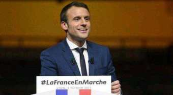 法国议会选举第一轮投票 马克龙以绝对优势胜出