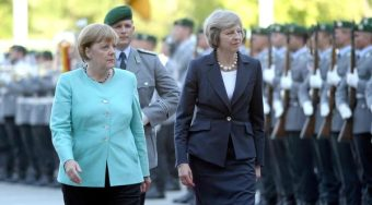 英国脱欧引默克尔及欧盟回应 多方希望英国尽快谈判