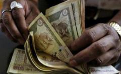 """法兴银行称印度寄希望废钞发""""横财""""之梦 可能将要破灭"""