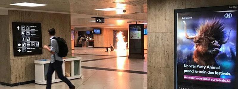 布鲁塞尔再发暴恐事件 涉案男子死亡无其他人员受伤